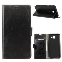 Samsung Galaxy J4 Plus - Plånboksfodral - Svart