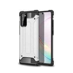 Samsung Galaxy Note 20 - Armor Hybrid Skal - Silver