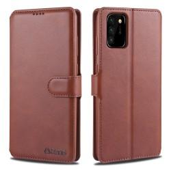 Samsung Galaxy Note 20 - AZNS Plånboksfodral - Brun