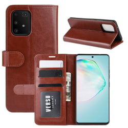 Samsung Galaxy S10 Lite - Crazy Horse Plånboksfodral - Brun
