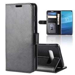 Samsung Galaxy S10 - Plånboksfodral - Svart