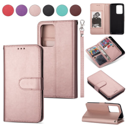Samsung Galaxy S20 - 9-korts Plånboksfodral - Roséguld