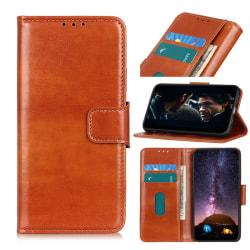 Sony Xperia L4 - Crazy Horse Plånboksfodral - Brun