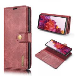 Samsung Galaxy S20 FE - DG.MING 2in1 Magnet Fodral - Vinröd