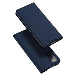Samsung Galaxy S20 FE - DUX DUCIS Skin Pro Fodral - Blå Blue Blå