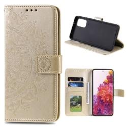 Samsung Galaxy S20 FE - Mandala Fodral - Guld Gold Guld