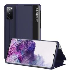 Samsung Galaxy S20 FE - View Window Flip Fodral - Blå Blue Blå
