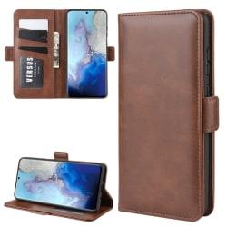 Samsung Galaxy S20 - Plånboksfodral - Brun
