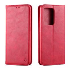 Samsung Galaxy S20 Plus - AZNS Plånboksfodral - Röd