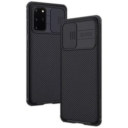 Samsung Galaxy S20 Plus - NILLKIN CamShield Skal - Svart Black Svart