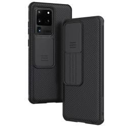 Samsung Galaxy S20 Ultra - NILLKIN CamShield Skal - Svart