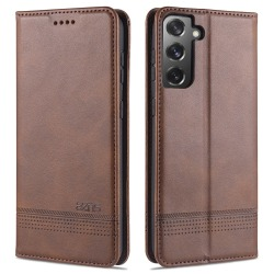 Samsung Galaxy S21 - AZNS Flip Fodral - Brun