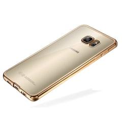 Samsung Galaxy S7 Edge - Färgad TPU - Guld