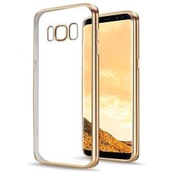 Samsung Galaxy S8 - Färgad TPU - Guld Gold Guld