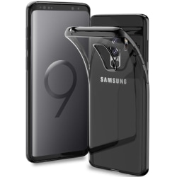 Samsung Galaxy S9 Plus - Färgat TPU Skal - Metallic Grey