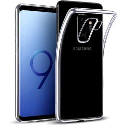 Samsung Galaxy S9 Plus - Färgat TPU Skal - Silver Silver Silver