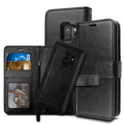 Samsung J4 Plus - Plånboksfodral / Magnet Skal 2 in 1 - Svart