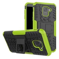 Samsung J6 Plus   Ultimata stöttåliga skalet med stöd - Grön