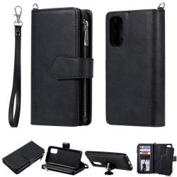 Samsung S20 - 2in1 Magnet Skal / Plånboksfodral - Svart
