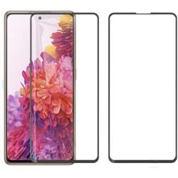 Samsung S20 FE - 2-Pack Heltäckande Härdat Glas