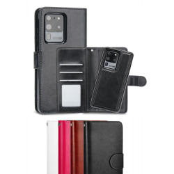 Samsung S20 - Plånboksfodral / Magnet Skal 2 in 1 - Välj Färg! Svart