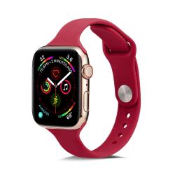Silikon Armband Apple Watch 38/40 mm - Röd