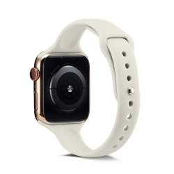 Silikon Armband Apple Watch 40/38 mm - Beige