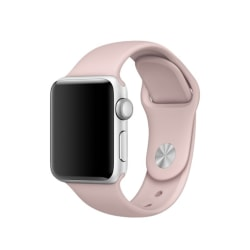 Silikon Armband Apple Watch 40/38 mm (S/M) - Ljus Rosa