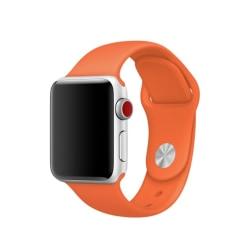 Silikon Armband Apple Watch 40/38 mm (S/M) - Orange