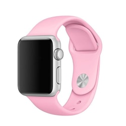 Silikon Armband Apple Watch 40/38 mm (S/M) - Rosa