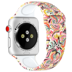 Silikon Armband Apple Watch 42/44 mm - Color Pattern