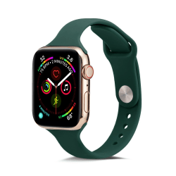 Silikon Armband Apple Watch 42/44 mm - Mörk Grön