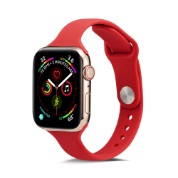 Silikon Armband Apple Watch 42/44 mm - Röd