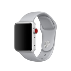 Silikon Armband Apple Watch 42/44 mm (S/M) - Grå
