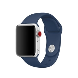 Silikon Armband Apple Watch 42/44 mm (S/M) - Navy Blue