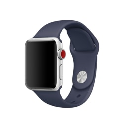 Silikon Armband Apple Watch 44/42 mm - Navy Blue