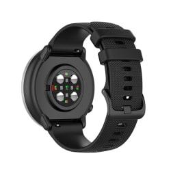 Silikon Armband För Smartwatch - Svart (20 mm)