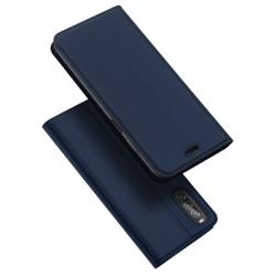 Sony Xperia 10 II - DUX DUCIS Skin Pro Plånboksfodral - Mörk Blå