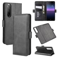 Sony Xperia 10 II - Magnetiskt Plånboksfodral - Svart