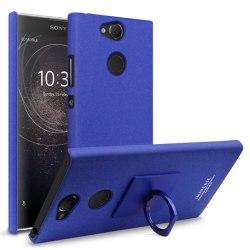 Sony Xperia XA2 - IMAK Ring Skal - Blå Blue Blå