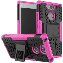 Sony Xperia XA2   Ultimata stöttåliga skalet med stöd   Rosa Pink Rosa