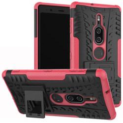 Sony Xperia XZ2 | Ultimata stöttåliga skalet med stöd - Rosa