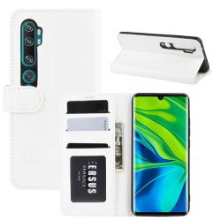 Xiaomi Mi Note 10/10 Pro - Crazy Horse Plånboksfodral - Vit