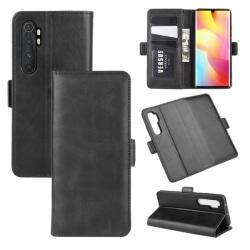 Xiaomi Mi Note 10 Lite - Magnetiskt Plånboksfodral - Svart