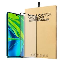 Xiaomi Mi Note 10 / Note 10 Pro - Heltäckande Härdat Glas