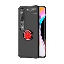 Xiaomi Mi Note 10 / Note 10 Pro - Ring Skal - Svart/Röd