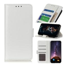 Xiaomi Redmi Note 9 - Crazy Horse Plånboksfodral - Vit