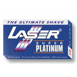 10-pack Laser Super Platinum Rakblad Dubbelrakblad