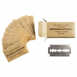 10-pack Razolution Rakblad Dubbelrakblad