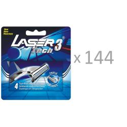 144 x 4-pack rakblad till Laser Tech3 rakhyvel